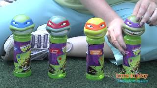 Teenage Mutant Ninja Turtles 8 oz. Bubbles with Wand from Little Kids, Inc.
