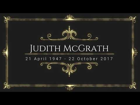 Tribute to Judith McGrath