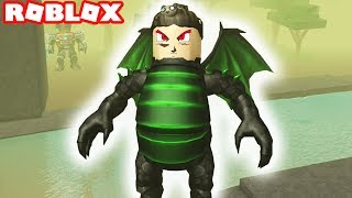Roblox / Titan Simulator Episode #2 / 70,000 POWER! THE GREEN DRAGON ARMOR (Titan Simulator)