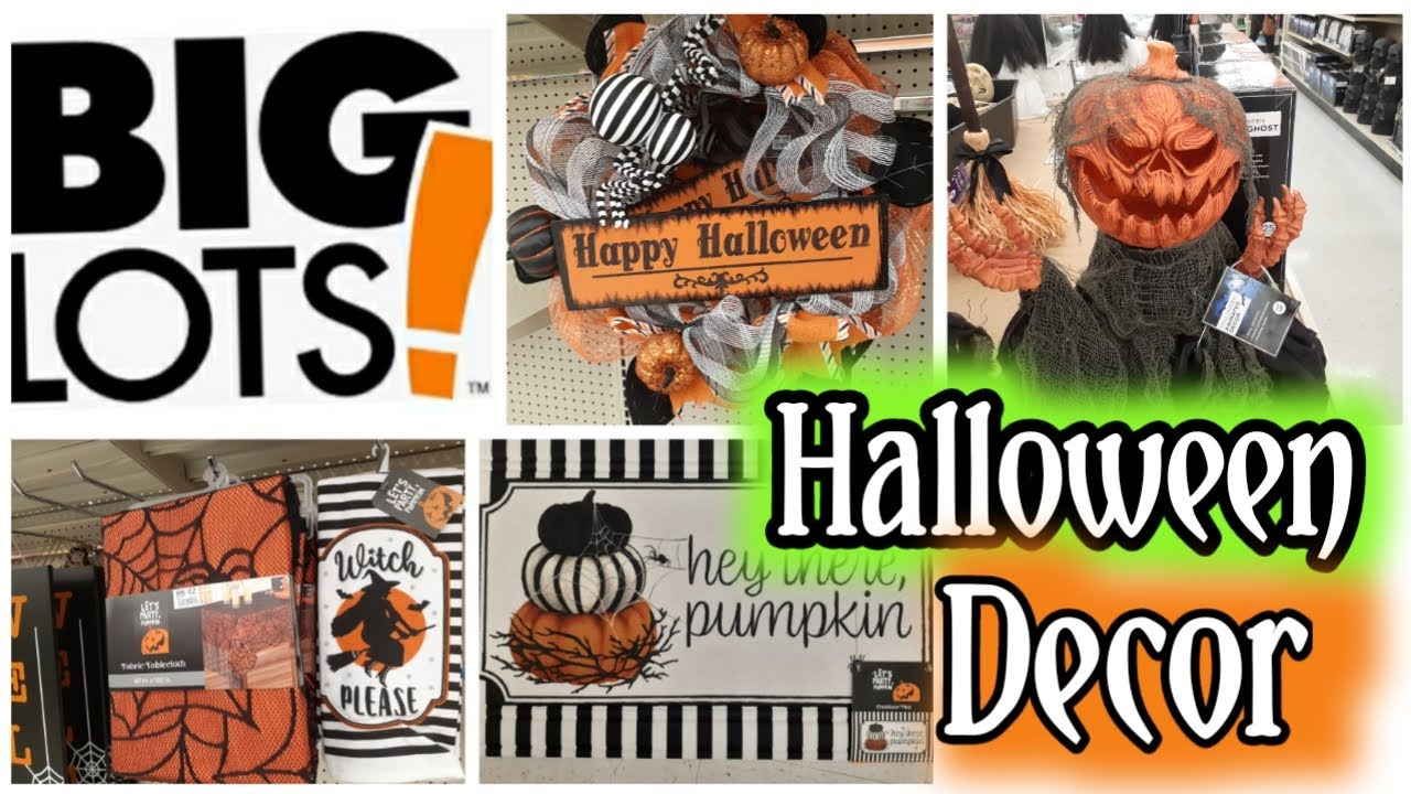 Big Lots Halloween Decor 🎃 Shop With Me