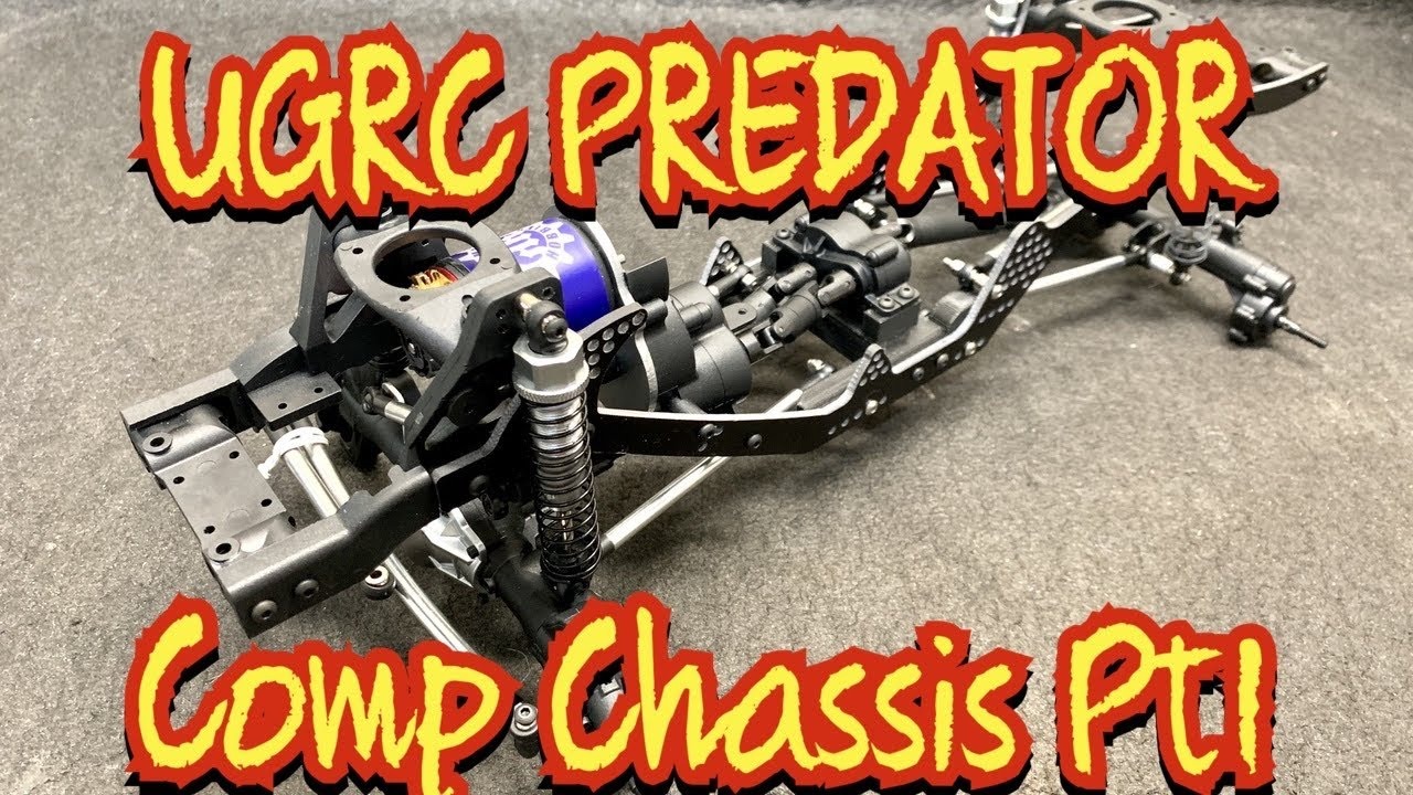 UGRC Labs Predator competition chassis for the Redcat Gen8 Pt1