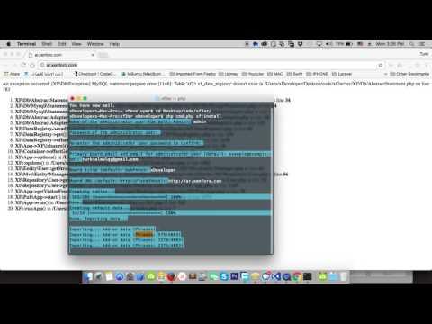 Install XenForo 2.0 Developer