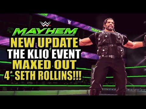 WWE Mayhem - Maxed Out 4 Star Seth Rollins!!! The Kliq Event, New Update W/ Kevin Nash & Razor Ramon