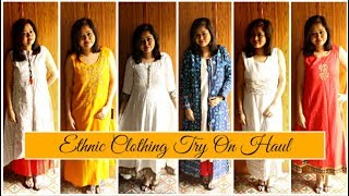 Ethnic Wear Haul + Try On | Pantaloons, Reliance Trends & Lifestyle Haul