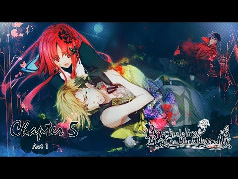 Psychedelica of the Black Butterfly - Chapter 5 - ( ACT 12 ) Walkthrough Gameplay ( PSVITA TV )