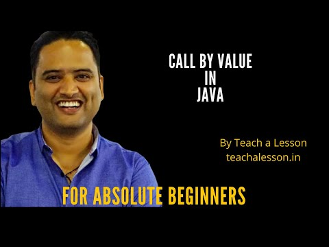 Call By Value and Reference in java