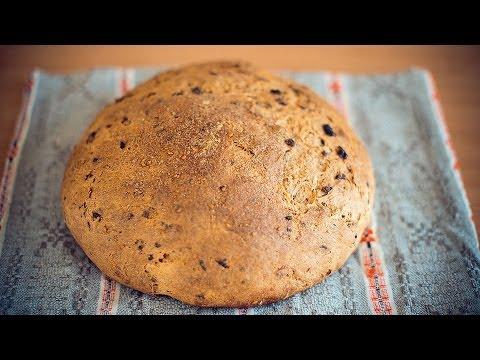 Бездрожжевой хлеб! Бездрожжевая закваска. Домашний хлеб!