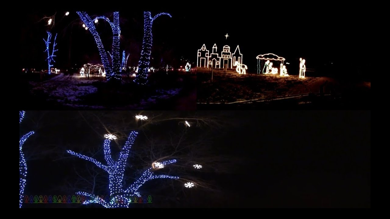 fantasy at the bay christmas light display complete hd experience willard bay utah - Willard Bay Christmas Lights