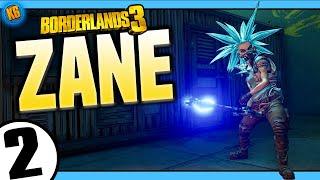 Borderlands 3 | Zane | Road to Mayhem Day #2 - Funny Moments & Legendary Loot   menu