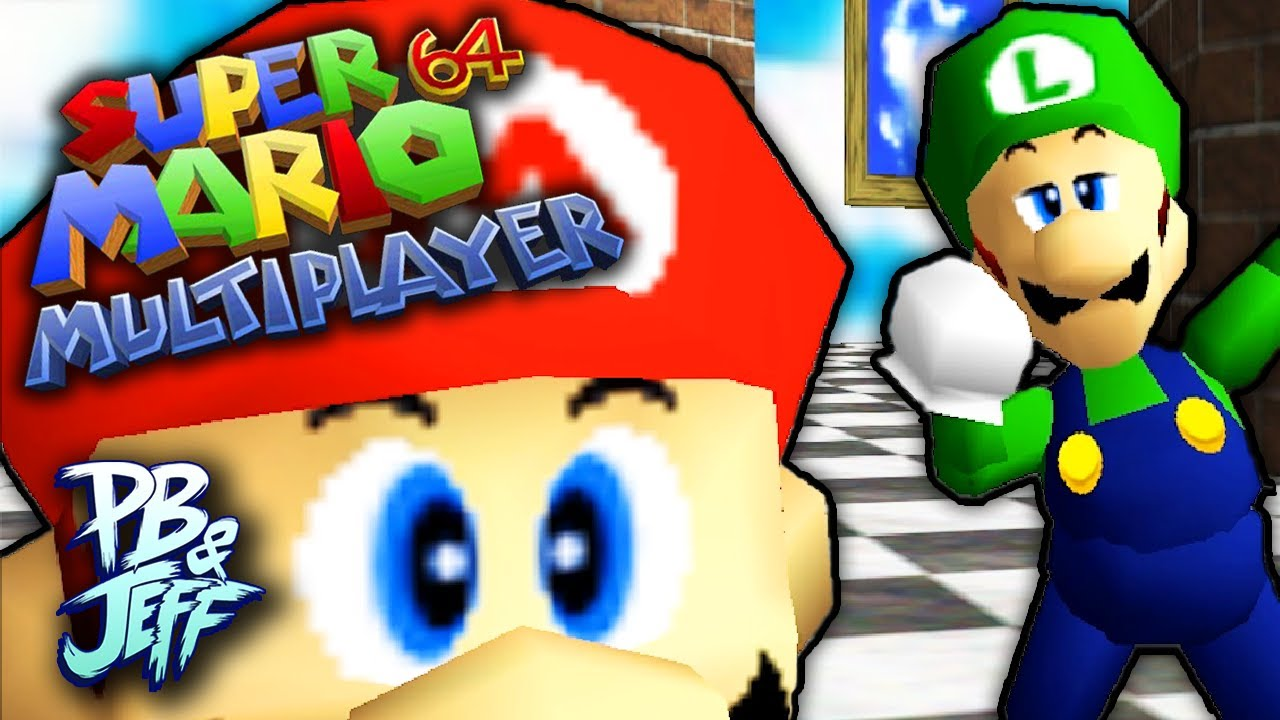knock em u0027 all out mario 64 multiplayer hack part 12 youtube