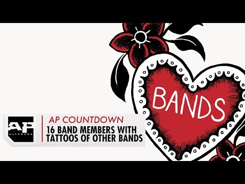 ALTPRESS Countdown: 16 Band Members Who Have a Tattoo of Another Band