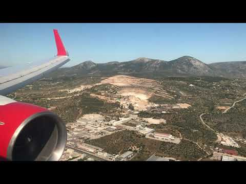 Air Canada Athens Landing