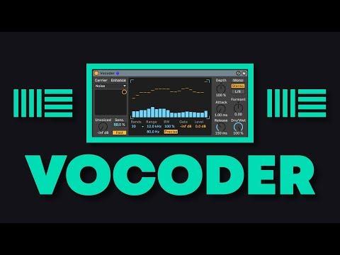 Ableton Live VOCODER Tutorial