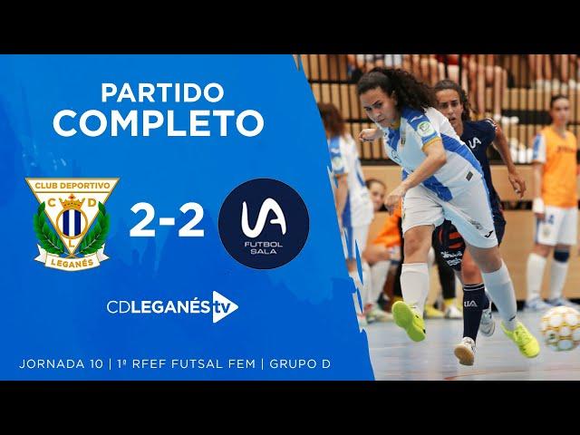 C.D. Leganés FS Fem vs Universidad de Alicante