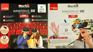 Merlin Immersive 3D VR Glasses | Full Unboxing | Gamers Nation