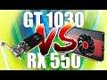 Radeon RX 550 ou GeForce GT 1030? Batalha das placas baratinhas!