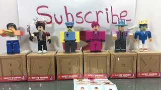 Unboxing Roblox Toys LIVE and Giving Out The Item Codes - HURRY!