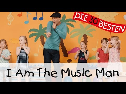 I Am The Music Man - Singen, Tanzen und Bewegen || Kinderlieder