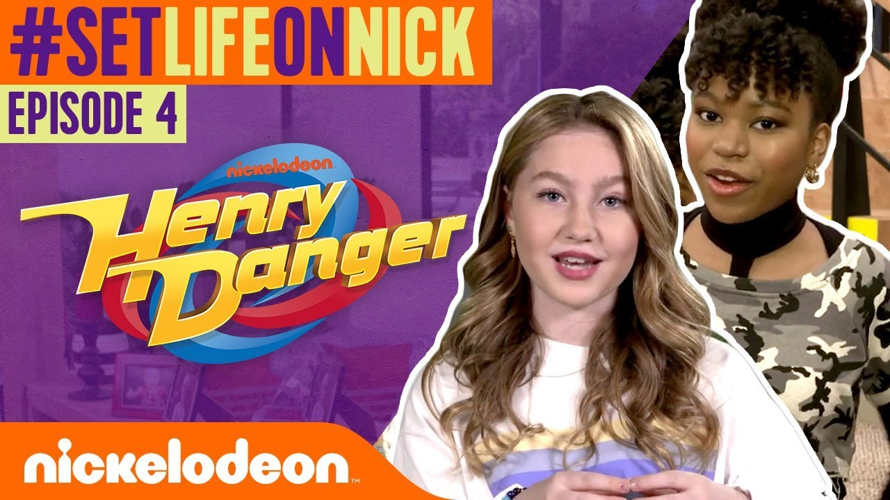 GIRL POWER on the Set of Henry Danger! 🎥 BTS Ep  4 | #SetLifeOnNick
