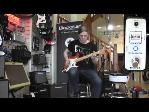Mooer Micro Looper Demo
