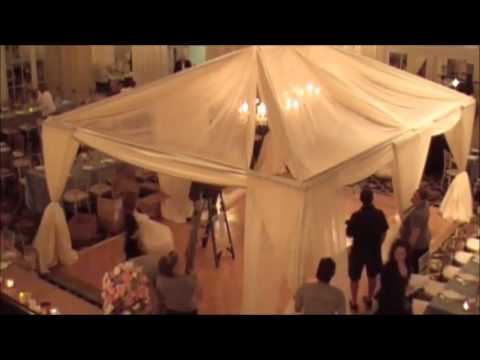 10 Hours of Wedding Floral and Decor Set in Under 6 Minutes Time Lapse