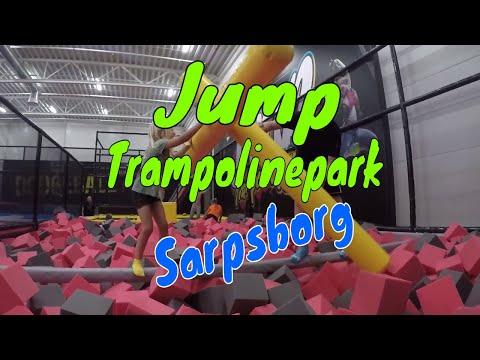 Vi lekte oss på Jump trampolinepark i Sarpsborg | Vlog