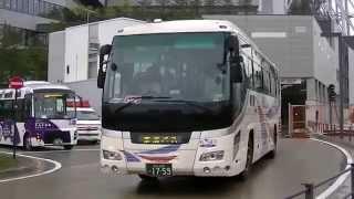 各社バスがスカイツリー駐車場内部を試走行(2012・0427) thumbnail