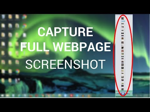 How To Capture Full Web Page Screenshot Using Google Chrome