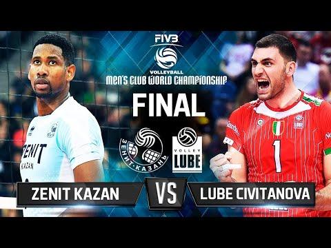 Zenit Kazan V Lube Civitanova Volleyball Highlights Final 2017 Club World Championship Youtube