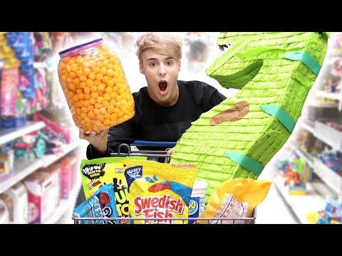 i went to WALMART for the FIRST TIME ever !!!