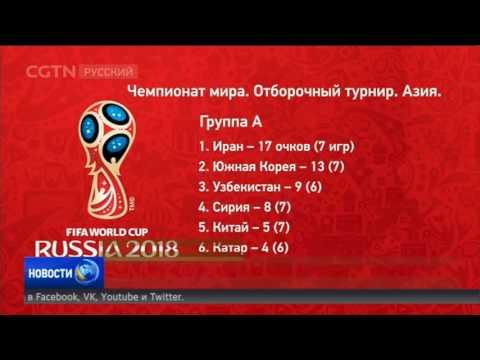 2018 по футболу азия мира чемпионат
