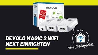 devolo Magic 2 WiFi next richtig einrichten - Endlich schnelles WLAN in der ganzen Wohnung #Werbung