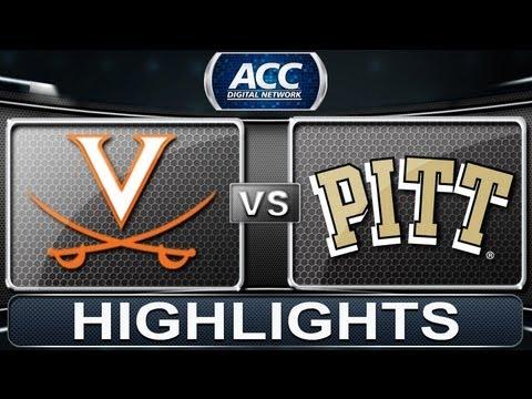 2013 ACC Football Highlights   Virginia Vs Pittsburgh   ACCDigitalNetwork