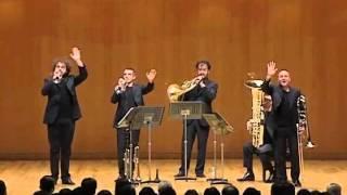 Gomalan Brass Quintet - Triumphal March (Aida) LIVE IN TOKYO
