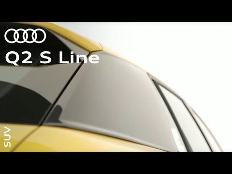 The Audi Q2 S line: #SUV? #Coupé? #allroad?