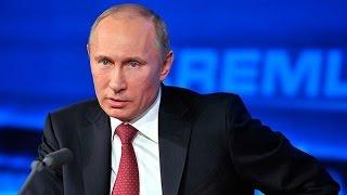 Большая пресс-конференция Владимира Путина 2017. Полное видео