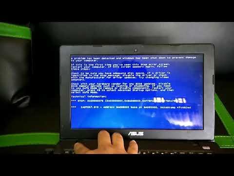 Cara memperbaiki boot device / hardisk yang tidak terdeteksi saat booting#tested Asus x200