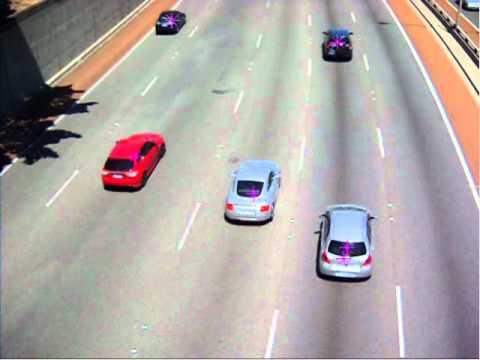Multi-Target Tracking of Traffic