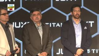 Titan Smartwatch Launch With Kabir Khan And Pritam Chakraborty