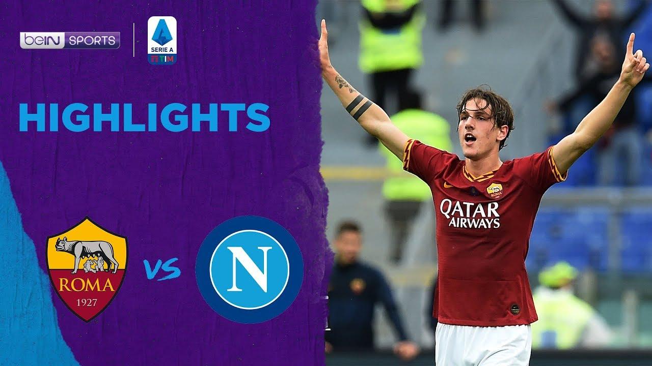 Roma 2-1 Napoli | เซเรีย อา ไฮไลต์ Serie A 19/20