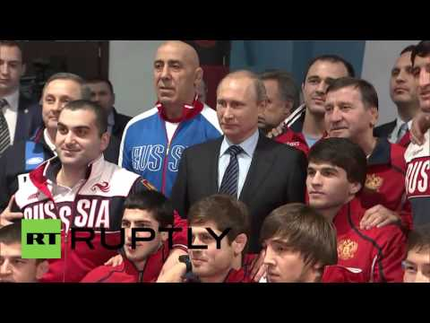 "Russia: ""It is necessary to fight against doping"" says Putin during Sochi visit"