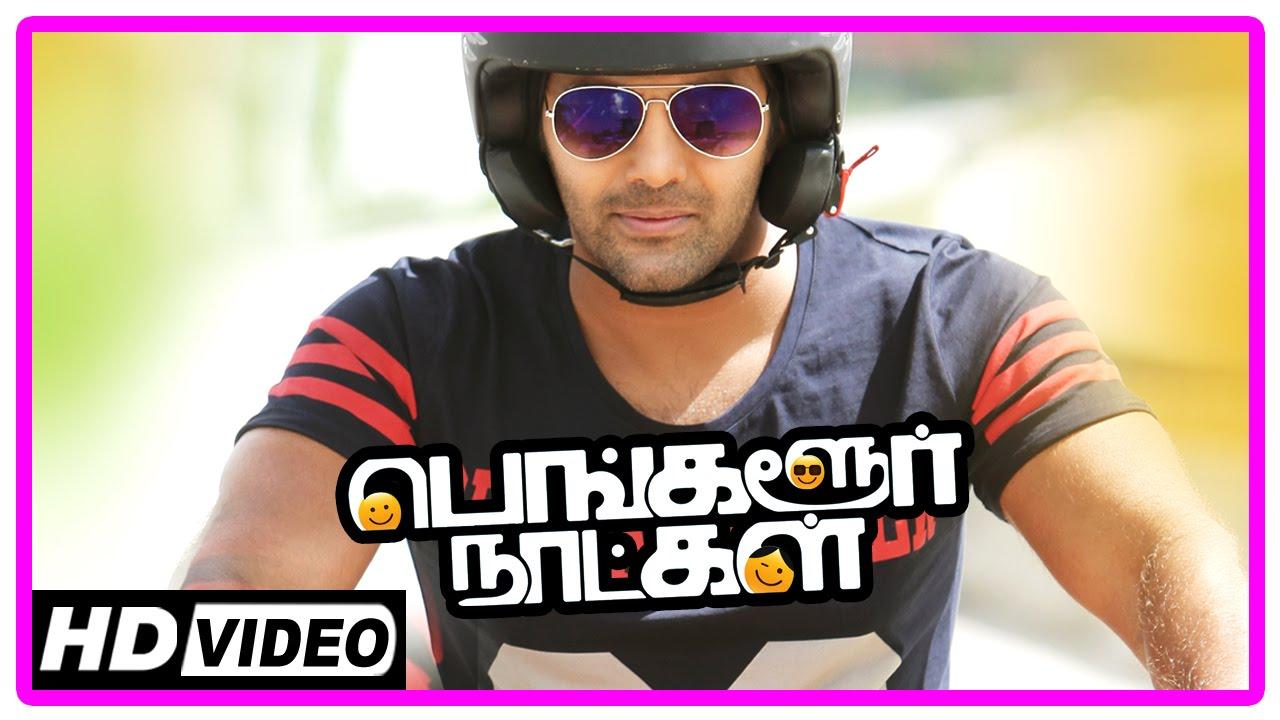 Download Bangalore Naatkal Tamil Movie   Arya Special Scenes   Sri Divya   Bobby Simha   Rana   Parvathy