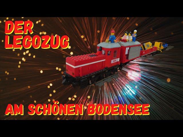 Lego Zug - Lego Train (Deutsch) am Bodensee