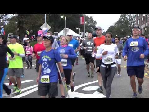 Raleigh City of Oaks Marathon 2015 Race Start