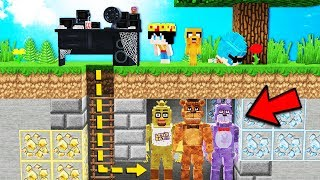 NEVER HIDE YOURSELF WITH AN ANIMATRONIC IN MINECRAFT FNAF! 🚫😱 MINECRAFT EL ESCONDITE # 35