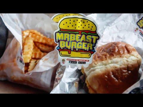 Doordashing MRBEAST BURGER | San Jose California | Food Review