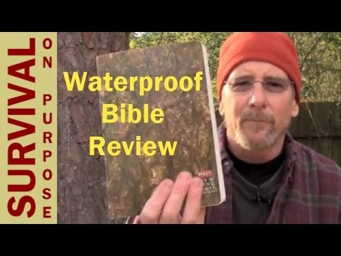 Camouflage Waterproof Bible Review