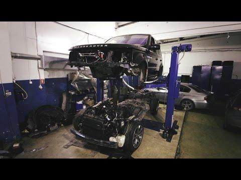 """Счастливый""владелец Range Rover Sport."
