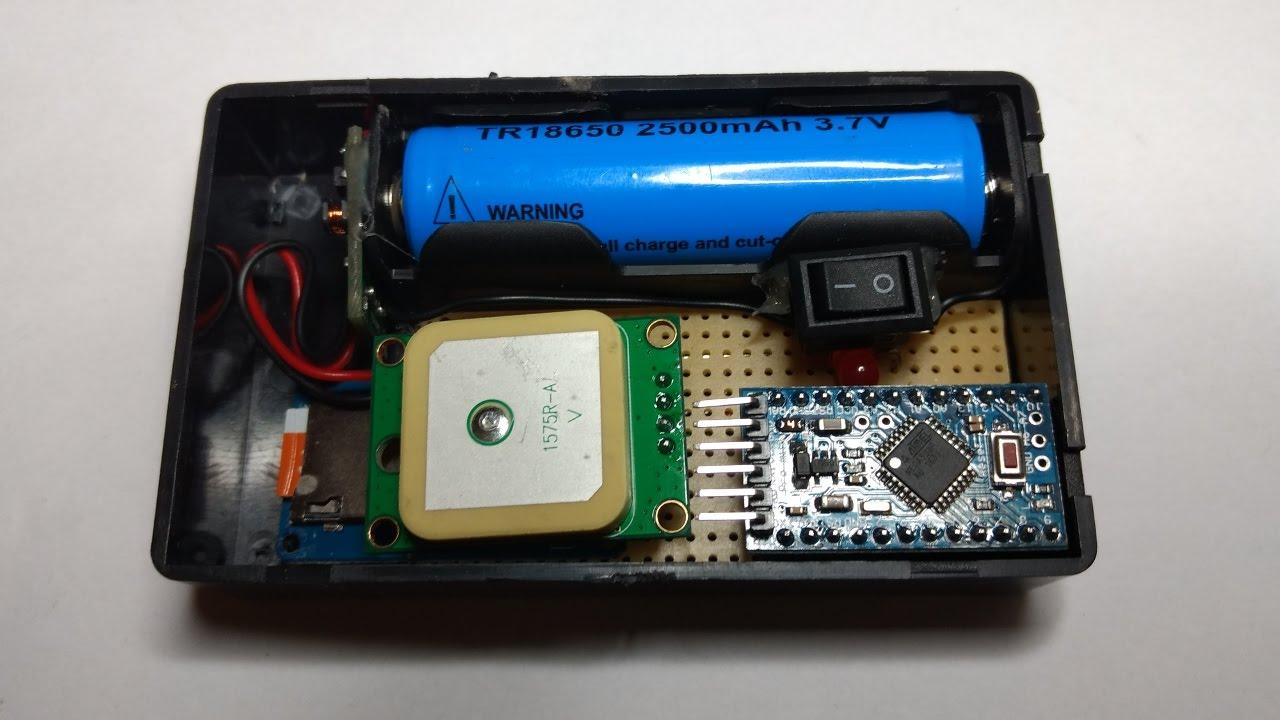 Arduino gps logger youtube