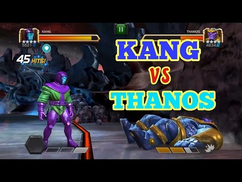 Kang vs Thanos Marvel Contest of Champions